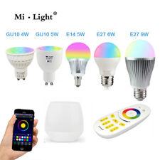 Rgb + CCT E27 GU10 MR16 Led Luz Regulable RGB Lámpara Bombilla 2.4G Inalámbrico MiLight