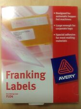 Avery Franking Labels FLO4 1000 Label Size 149x38mm White
