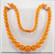 Amber Necklace/Choker Art Deco Fine Jewellery