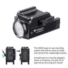 TrustFire GM23 TAC Pistol Light 800LM Glock Rail Mount USB Charging Flashlight
