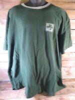 Vintage Eddie Bauer EBTEK Green T-Shirt Size 2XL