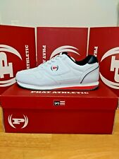 Men's Phat Farm Athletic and Fashion PF Solstice LE White/Navy/Red  #617845-67W