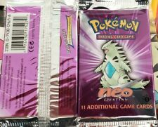Unweighed FACTORY SEALED 1st Edition Pokemon Neo Destiny Booster Pack, BGS/PSA??