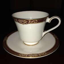 "Royal Doulton ""Tennyson"" Cup & Saucer Fine Bone China"