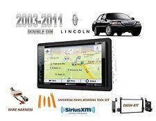 2003-2011 LINCOLN TOWN CAR GPS NAV BLUETOOTH SIRIUS READY DVD CAR STEREO KIT