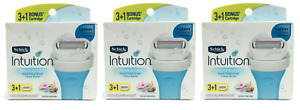 Schick Intuition Refill Blade Cartridges, Spring Bloom, 12 Cartridges