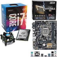 Intel Core i7 7700 3.6Ghz (4.2Ghz), Asus H110M-A/M.2 no RAM
