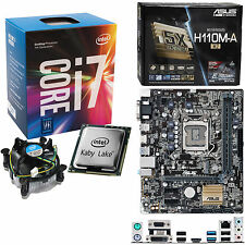 Intel Core i7 7700 3.6Ghz (4.2Ghz) Asus H110M-A/M.2 ohne RAM