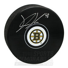 Danton Heinen Boston Bruins Signed Autographed Bruins Hockey Puck