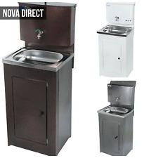 More details for portable hand wash mobile steel basin sink for camping garage cafe construction