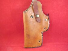 Homemade LH Leather Belt Holster for Midsize Semi Auto Pistols- $7 USPS Mail