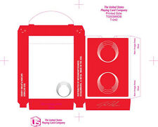 Red Saturn Playing Cards