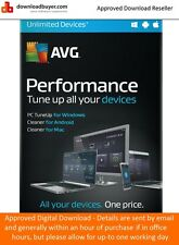 AVG Performance 2016 - 1 Year/Unlimited Devices - (Approved Digital Download)