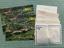 1981 Whispering Palms Country Club Brochures, Map, Stationery, RanchoSantaFe Ca
