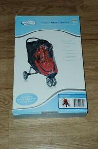Baby Jogger City Mini 4-Wheel Stroller Single Rain & Wind Canopy