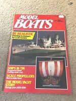 JUNE 1985 MODEL BOATS boat model magazine