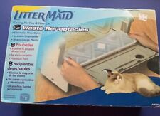 Box of 8 LITTERMAID Waste Receptacles and Lids -  LMR200 (1st gen.)