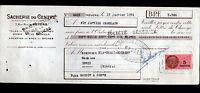 """NEVERS (58) USINE de SACS & BACHES """"SACHERIE DU CENTRE"""" en 1954"""