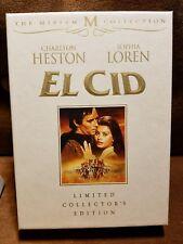 El Cid (DVD, 2008, 2-Disc Set, Limited Collectors Edition) Miriam M collection