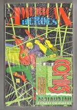 AMERICAN HEROES n. 15 + INTERVIEW COMICS Play Press