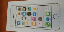 Straight Talk Only! Apple iPhone 5S 16GB 4G LTE Prepaid Smartphone Silver A7 NEW