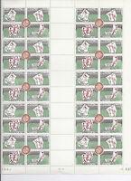 Monaco -  N° 628 à 631 en feuille complète en datre du 1.8.63