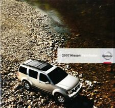 2007 07 Nissan Pathfinder  original sales brochure mint