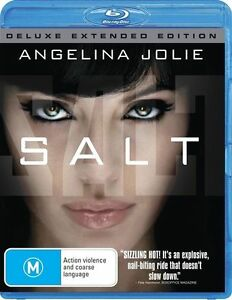 Salt (Blu-ray, 2010) Brand New - Free Post