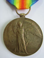 Canada WW1 Victory Medal - Pte. A.N. Brown 124th Canadian Infantry Battalion