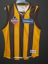 HAWTHORN LANCE FRANKLIN BUDDY SIGNED 2008 JERSEY UNFRAMED + PHOTO PROOF & C.O.A