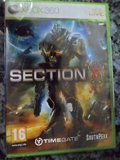 SECTION 8 Xbox 360 Live Nuevo Precintado Juego de Acción estrategia PAL España