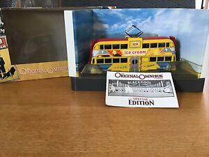 CORGI OOC OM43505 - BALLOON TRAM BLACKPOOL TRANSPORT (WALL'S) SPECIAL EDITION