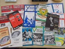More details for job lot of 22 rugby league programmes all featuring leeds away 1970s & 1980s