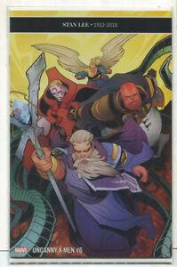 Uncanny X-Men #6 NM Stan Lee 1922-2018  Marvel Comics CBX37
