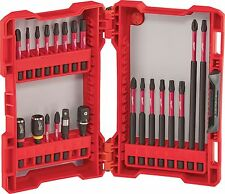 Milwaukee 22pc Shockwave Automotive Impact driver Bit Set w/adapters #48-32-4016