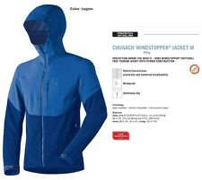 NEW Dynafit Chugach Softshell Windstopper Blue Mens S Ski Jacket 2016 Msrp$400