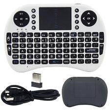 Ratón Inalámbrico 2.4G Aire Control Remoto Teclado Qwerty Caja XBMC Android TV PC