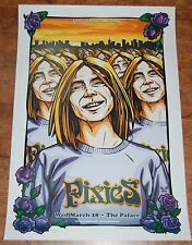 Pixies Melbourne Australia 2007 tour poster gig print Damon Greulich #'d of 500