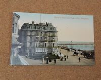 Queens Hotel and Palace Pier Brighton Unposted tinted   .XC2
