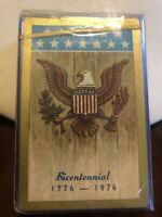 VINTAGE Deck of playing cards Bicentenial design 1976 Sealed