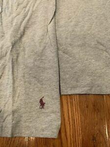 NEW POLO RALPH LAUREN Sleepwear Men's 1/4-Zip Long-Sleeve Loungewear Size/Color