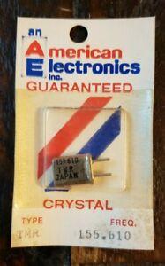 NOS American Electronics Crystal CB Radio Scanner Walkie Talkie. Fast Free Ship