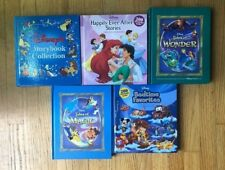 DISNEY STORYBOOKS Lot 5 Tales of Wonder Magic Bedtime Favorites Happily Ever