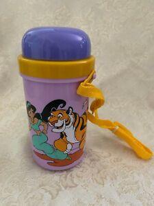 NEW 90's Disney Princess Jasmine Aladdin Rajah Movie CANTEEN Plastic Cup