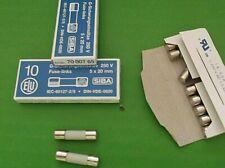 F400mA250V Quick Blow Glass Fuse 6 x 32mm 250V 400mA VAT Invoice JPSF386