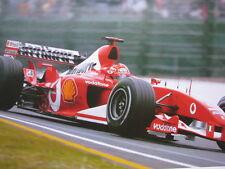 Poster Marlboro Ferrari F2002 2002 #1 Michael Schumacher (GER) type 4