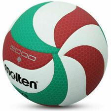 New listing Volleyball Ball Official Size V5 Molten M5000 Leather Indoor Outdoor Volley Game