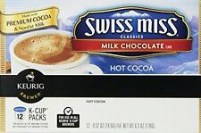 Swiss miss Hot Cocoa, Milk Chocolate, K-Cup Portion Pack for Keurig K-Cup Brewer