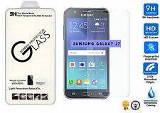 PREMIUM HD CLEAR TEMPERED GLASS SCREEN PROTECTOR FOR SAMSUNG GALAXY J7