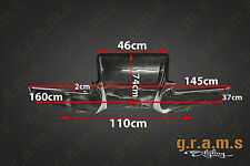 UNIVERSAL 160cm Diffuser + Brackets Included Top Secret / Shine Style Type1 V6